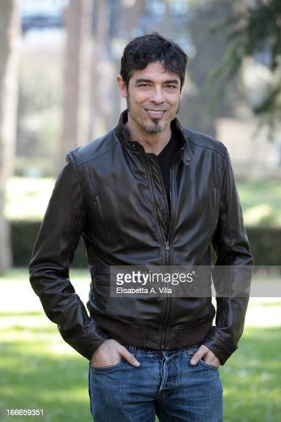 Director and actor Alessandro Gassman attends Razza Bastarda photocall at Villa Borghese on April 15 2013 in Rome Italy