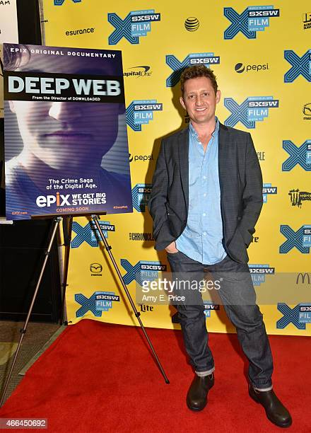 Director and actor Alex Winter attends the premiere of 'Deep Web' during the 2015 SXSW Music Film Interactive Festival at the Austin Convention...