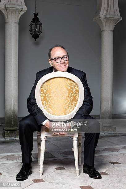 Director and actor Carlo Verdone is photographed for Gioia Magazine in Venice Italy