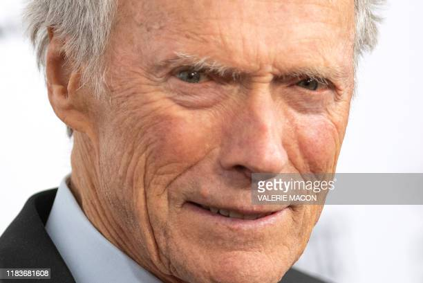 Director and actor Clint Eastwood attends the Richard Jewell world premiere gala screening during AFI FEST 2019 Presented By Audi at TCL Chinese...
