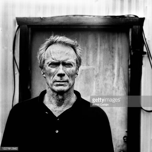 Director and actor Clint Eastwood is photographed for Icon Magazine on September 26 1997 in Los Angeles California