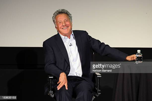 Director and actor Dustin Hoffman speaks to Susan Morrison following a preview screening of his new comedy 'Quartet' as part of The New Yorker...