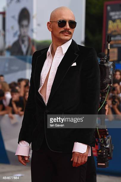 Director and actor James Franco arrives for the 'The Sound and the Fury' Premiere before receiving the JLC Glory To The Filmmaker 2014 Award during...