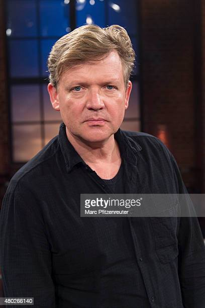 Director and actor Justus von Dohnanyi attends the 'Koelner Treff' TV Show at the WDR Studio on July 10 2015 in Cologne Germany