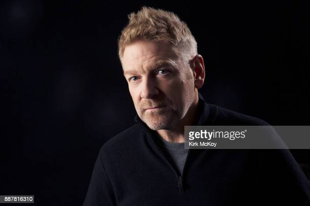 Director and actor Kenneth Branagh is photographed for Los Angeles Times on October 26 2017 in Los Angeles California PUBLISHED IMAGE CREDIT MUST...