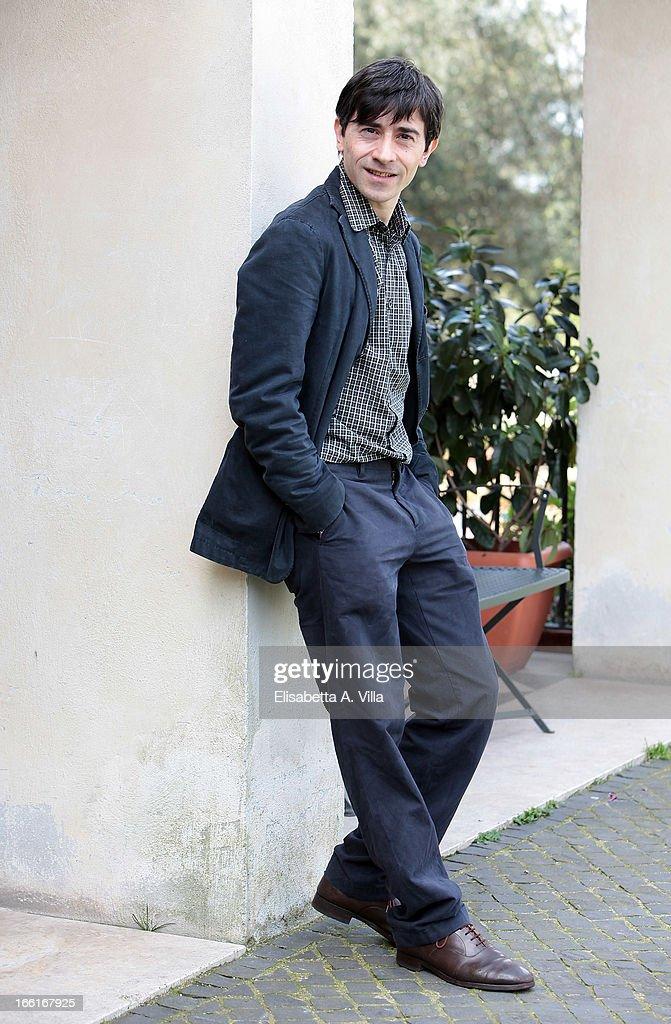 Director and actor Luigi Lo Cascio attends 'La Citta Ideale' photocall at Casa del Cinema on April 9, 2013 in Rome, Italy.
