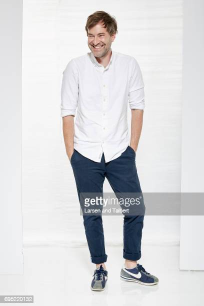 Director and actor Mark Duplass is photographed for Entertainment Weekly Magazine on June 11 2017 in Austin Texas