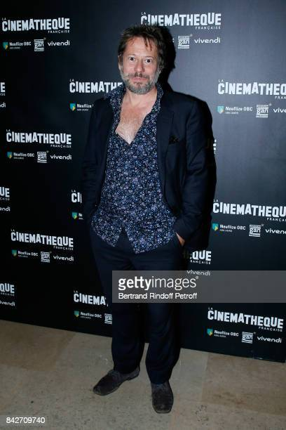 Director and actor of the movie Mathieu Amalric attends the 'Barbara' Paris Premiere at Cinematheque Francaise on September 4 2017 in Paris France