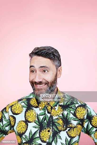 Director and actor Taika Waititi is photographed for Entertainment Weekly Magazine on January 25 2014 in Park City Utah