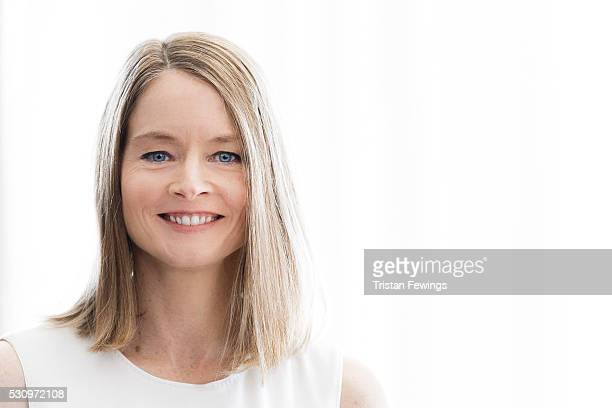 Director and actress Jodi Foster is photographed for Self Assignment on May 12 2016 in Cannes France