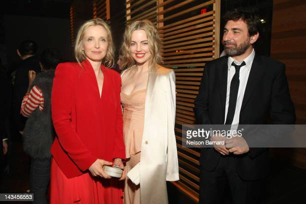 Director and actress Julie Delpy actress Melissa George and JeanDavid Blanc attend the Tribeca Film Festival 2012 AfterParty For 2 Days In New York...