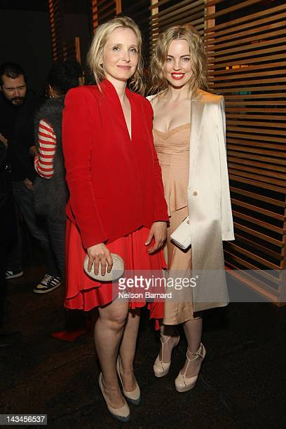 Director and actress Julie Delpy and actress Melissa George attend the Tribeca Film Festival 2012 AfterParty For 2 Days In New York Hosted By Bombay...