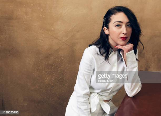 Director and actress Meredith Alloway of the film 'Deep Tissue' poses for a portrait at the 2019 SXSW Film Festival Portrait Studio on March 9 2019...