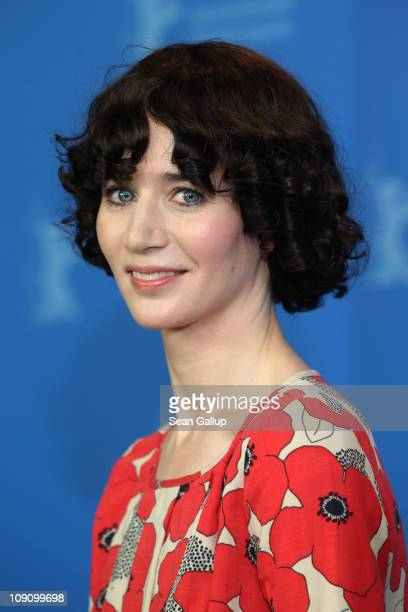 Director and actress Miranda July attends the 'The Future' Photocall during day six of the 61st Berlin International Film Festival at the Grand Hyatt...