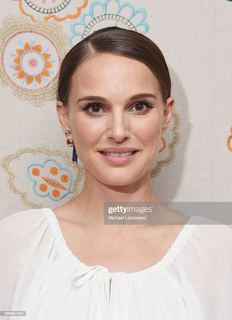 Director and actress Natalie Portman attends the after party for the New York premiere of 'A Tale Of Love & Darkness' at Crosby Street Hotel on August 15, 2016 in New York City.
