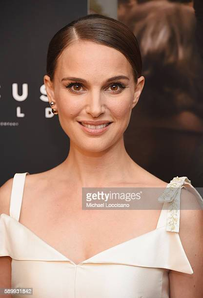 Director and actress Natalie Portman attends the New York premiere of 'A Tale Of Love Darkness' at Crosby Street Hotel on August 15 2016 in New York...