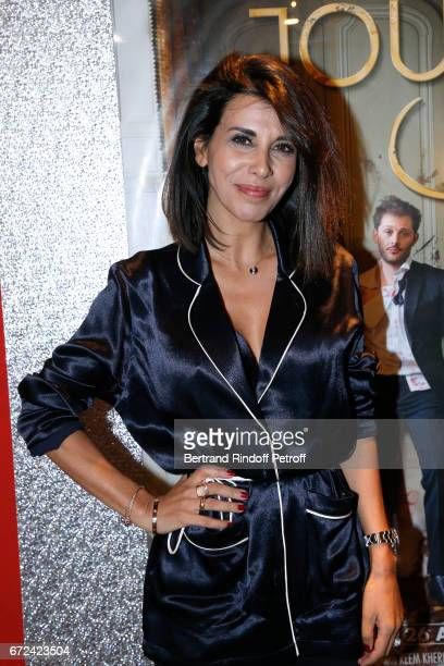 Director and actress of the movie Reem Kherici attends the Jour J Paris movie Premiere on April 24 2017 in Paris France