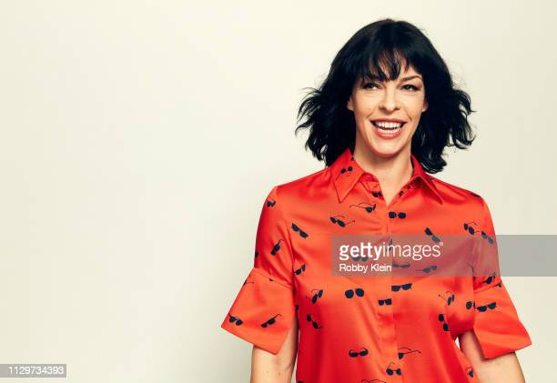 Director and actress Pollyanna McIntosh of the film 'Darlin'' poses for a portrait at the 2019 SXSW Film Festival Portrait Studio on March 10 2019 in...