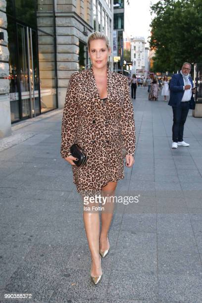 Director and author Anika Decker during the Bunte New Faces Night at Grace Hotel Zoo on July 2 2018 in Berlin Germany