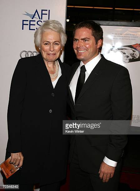 Director and CEO Jean Picker Firstenberg and Audi director of marketing Stephen Berkov arrive at the AFI FEST presented by Audi opening night gala of...