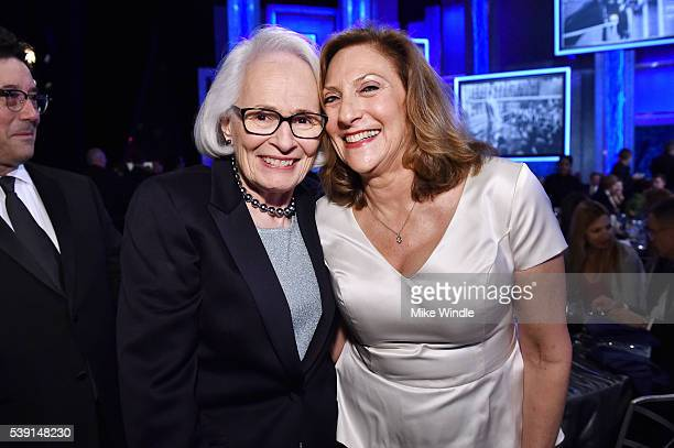 AFI director and CEO Jean Picker Firstenberg and director Lesli Linka Glatter pose backstage American Film Institute's 44th Life Achievement Award...