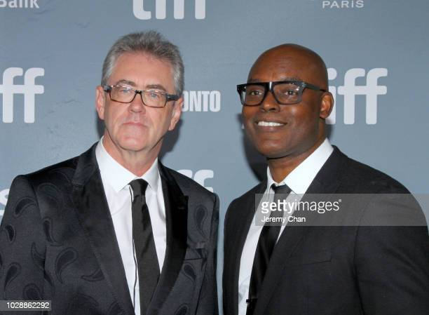 Director and CEO of the Toronto International Film Festival Piers Handling and TIFF Artistic Director CoHead Cameron Bailey attend the 2018 TIFF...