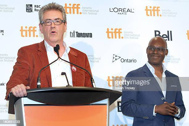 Director and CEO of the Toronto International Film Festival Piers Handling and Toronto International Film Festival artistic director Cameron Bailey...