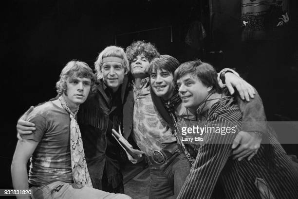 Director and composer Tom O'Horgan actor and playwright James Rado actor and singersongwriter Gerome Ragni actor Oliver Tobias and actor and singer...