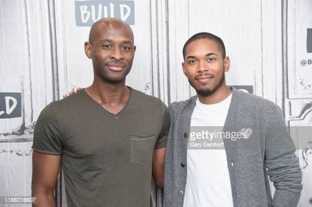 """Director and coscreenwriter Julius Onah and actor Kelvin Harrison Jr visit the Build Series to discuss the film """"Luce at Build Studio on August 05..."""