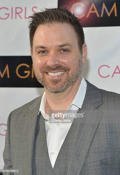 Director and executive producer David Slack attends the screening party for the new original web series CAM GIRLS at United Talent Agency on May 31...
