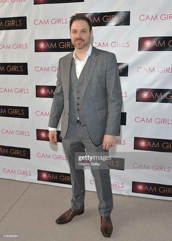Director and executive producer David Slack attends the screening party for the new original web series, 'CAM GIRLS' at United Talent Agency on May 31, 2015 in Beverly Hills, California.