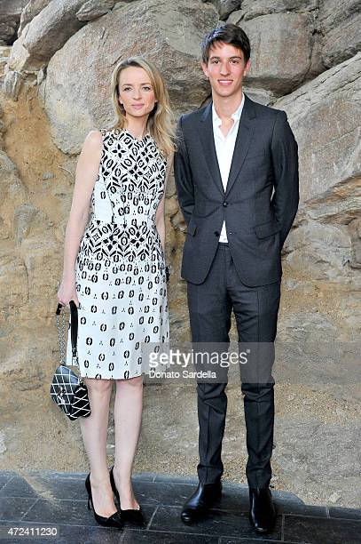 Director and executive vice president of Louis Vuitton Delphine Arnault and Alexandre Arnault attend the Louis Vuitton Cruise 2016 Resort Collection...