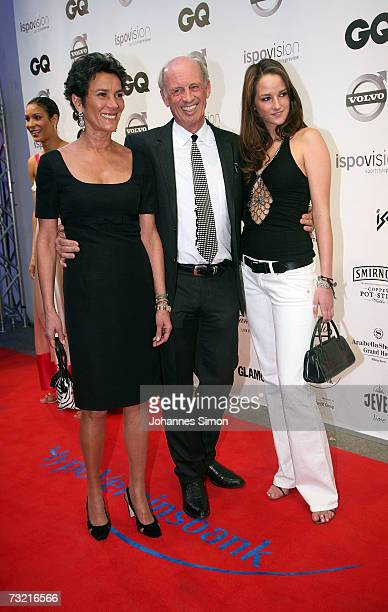 Director and fashion designer Willy Bogner, his wife Sonia and his daughter Florinda attend the GQ Ispovision Style night, February 5 in Munich,...