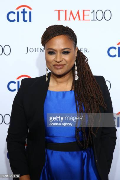 Director and film producer Ava Du Vernay attends the 2017 TIME 100 Gala at Jazz at Lincoln Center in New York United States on April 25 2017