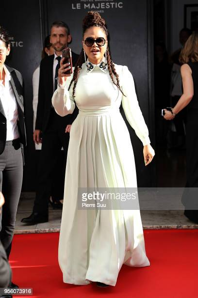 Director and jury member Ava DuVernay is seen at 'Le Majestic' hotel during the 71st annual Cannes Film Festival at on May 8 2018 in Cannes France
