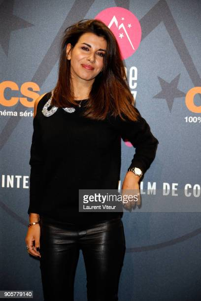 Director and Jury Member Reem Kherici attends Opening Ceremony during the 21st L'Alpe D'Huez Comedy Film Festival on January 16 2018 in Alpe d'Huez...