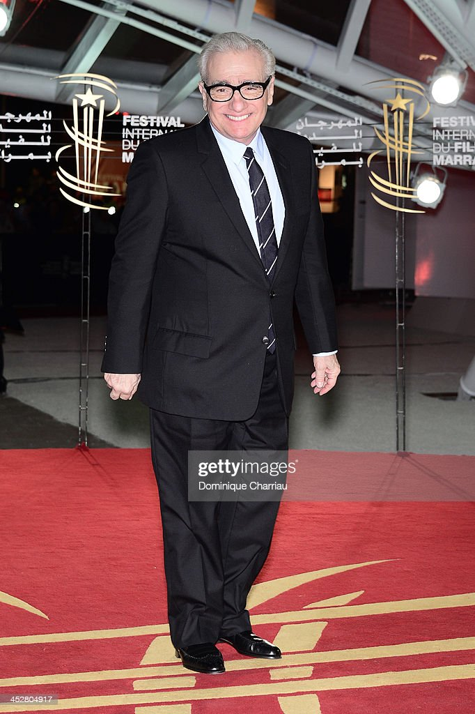 Director and Jury President Martin Scorsese attends the 'Like Father, Like Son' premiere during the 13th Marrakech International Film Festival on December 1, 2013 in Marrakech, Morocco.