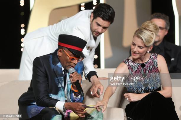Director and Jury President of the 74th Cannes Film Festival Spike Lee lets slip at the start of the Cannes film festival awards ceremony that French...