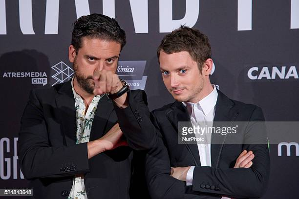 Director and lead actor ELIJAH WOOD madrid visit to attend the premiere of his latest work the movie GRAND PIANO, in the Capitol cinema in Madrid....