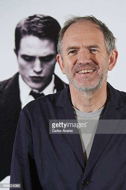 Director and photographer Anton Corbijn attends the 'Life' photocall at the Intercontinental Hotel on November 11 2015 in Madrid Spain