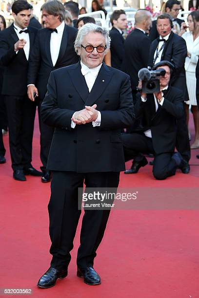 Director and President of Jury George Miller attends the 'Julieta' premiere during the 69th annual Cannes Film Festival at the Palais des Festivals...