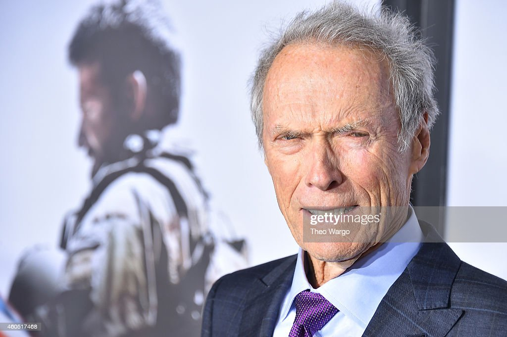 Director and Producer Clint Eastwood arrives at the 'American Sniper' New York Premiere at Frederick P. Rose Hall, Jazz at Lincoln Center on December 15, 2014 in New York City.