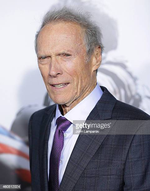 Director and producer Clint Eastwood attends the 'American Sniper' New York Premiere at Frederick P Rose Hall Jazz at Lincoln Center on December 15...