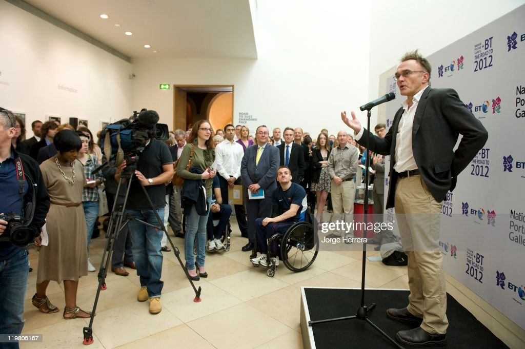 Director and Producer Danny Boyle attends 'Road to 2012: Changing Pace,' the unveiling of new portraits of the people making London 2012 happen, at the National Portrait Gallery on July 25, 2011 in London, England.