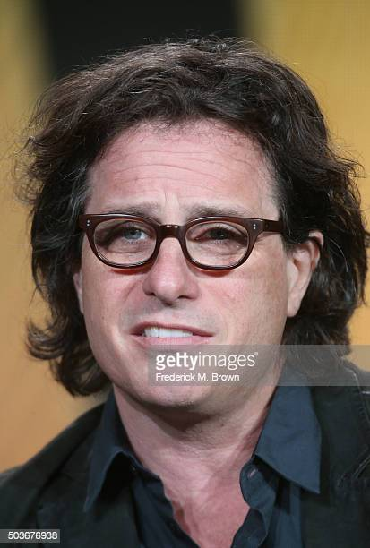 Director and Producer Davis Guggenheim speaks onstage during the He Named Me Malala panel as part of the National Geographic Channel's portion of...