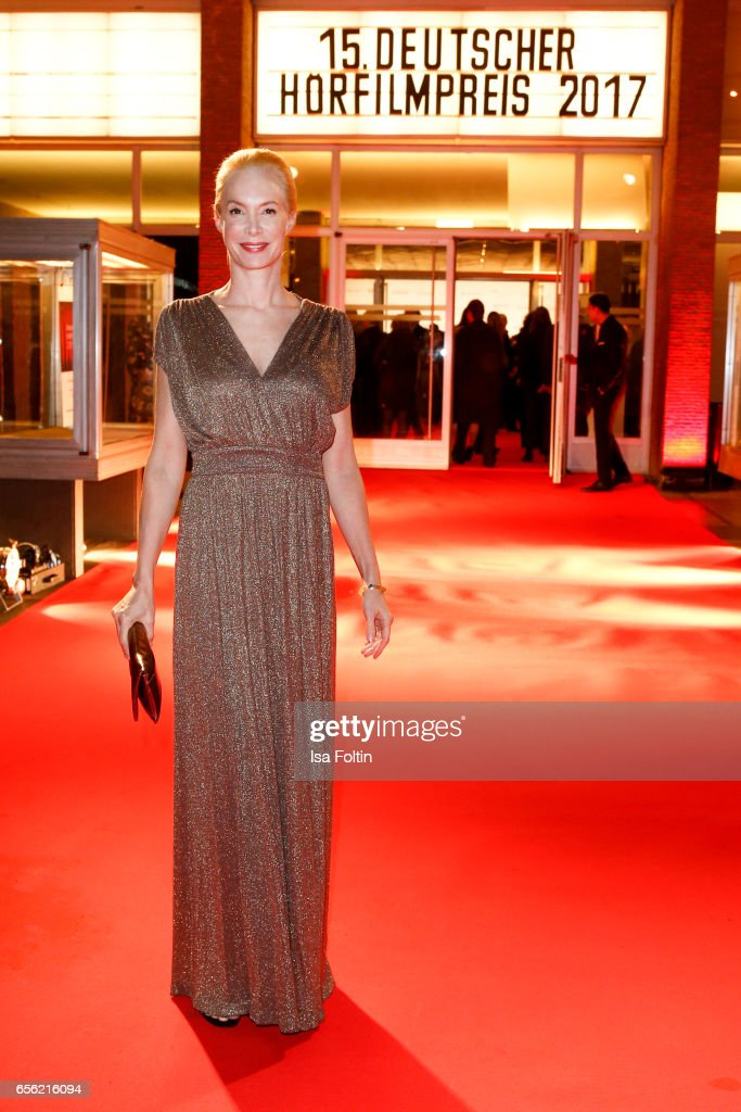 Director and producer Feo Aladag arrives at the Deutscher Hoerfilmpreis at Kino International on March 21, 2017 in Berlin, Germany.