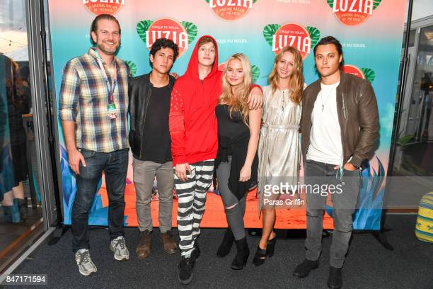 Director and Producer Mike Horowitz Danny Lewis Actor Percy Hynes White Actress Natalie Alyn Lind Actress Amy Acker and Actor Blair Redford attend...