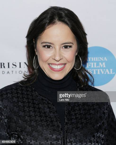 Director and Producer Patricia Riggen attends the 2017 Athena Film Festival Awards Ceremony at Barnard College on February 10 2017 in New York City