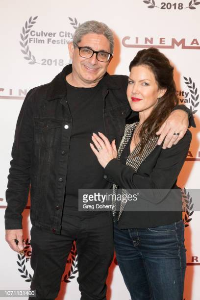 Director and Producer Richard Friedman and Actress and Executive Producer Kira Reed Lorsch attend a screening of Acts Of Desperation At Culver City...