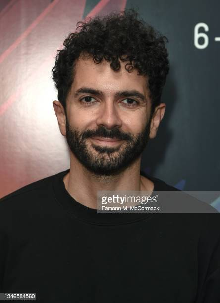 """Director and screenwriter Ely Dagher attends """"The Sea Ahead"""" UK Premiere during the 65th BFI London Film Festival at the Institute Of Contemporary..."""